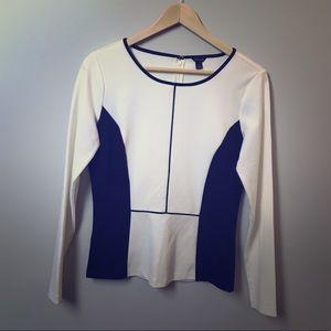 Ann Taylor, size S, long sleeve blouse